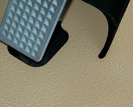 Overlay Rubber Golf Cart Mats